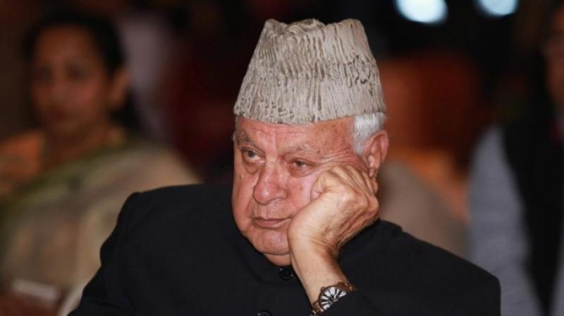Farooq Abdullah (PTI file photo)