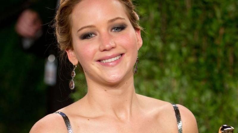 Jennifer Lawrence. (Photo: AFP)