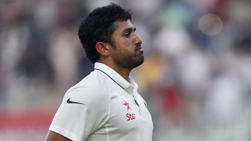 Karun Nair  (Photo: AP)