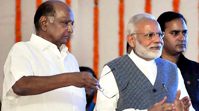 Nationalist Congress Party chief Sharad Pawar has said Prime Minister Narendra Modi had proposed