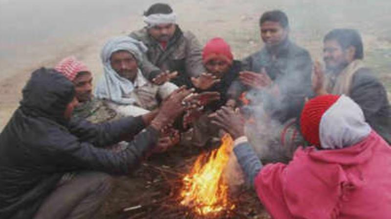 Several places in the north India experienced the coldest day of the winter on December 2, as the mercury dipped below the season's average, with Leh recording a minimum temperature of -14.4 degrees Celsius. (Representational Image)