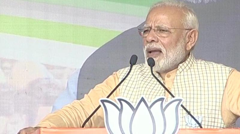 Prime Minister Narendra Modi on Tuesday launched a blistering attack on the opposition JMM-Congress alliance in Jharkhand, alleging it followed the politics of