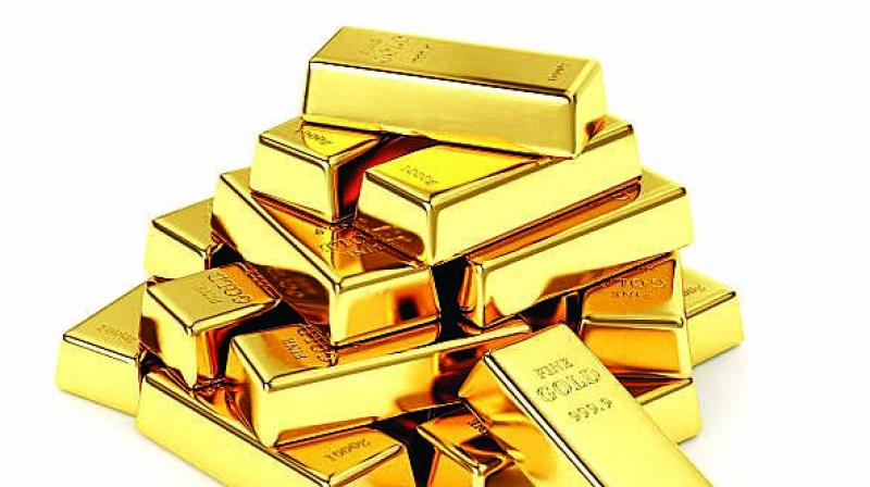 Post-festive season, the bullion dealers and jewellers found an opportunity to replenish their stocks when the prices fell by around Rs 200 per gm from record high levels in the domestic market.