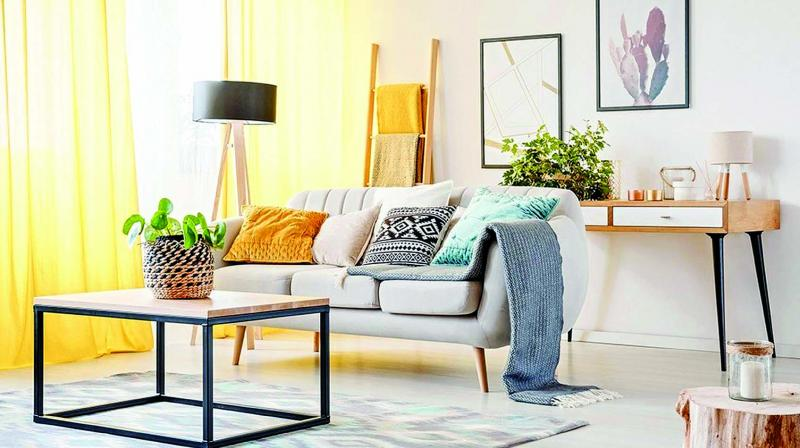 Adding vibrant colours is a good option to make your space akin to the winters as sometimes it might be a bit gloomy with the sun not shining and a bit of a hazy weather.