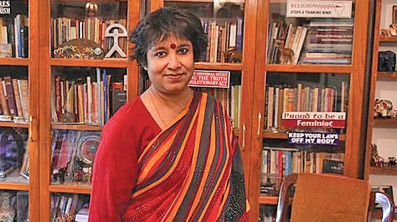Bangladeshi writer Taslima Nasreen has been living in exile in India and Europe after having incurred the wrath of fundamentalists back home over a novel written by her in 1994. (Photo: File)