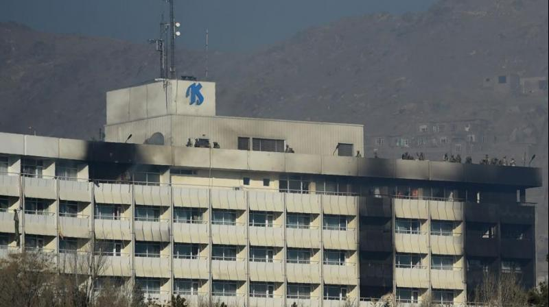The hotel attack was followed by a Taliban-claimed ambulance bombing on January 27 in the Afghan capital that claimed over 100 lives. (photo: AFP)