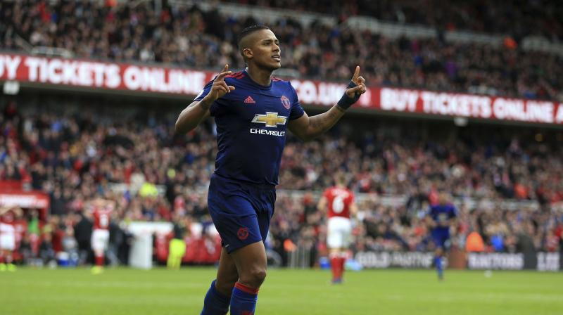 Manchester United's latest victory, as they became the first club to record 600 Premier League wins, puts them a distant 17 points behind leaders Chelsea but two points ahead of their nearest rivals Arsenal and Everton in seventh, boosting their hopes of a top-four finish in the race to qualify for a place in next season's Champions League. (Photo: AP)