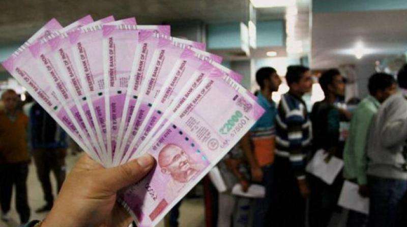 Seen any lately? RBI says the number of Rs 2,000 currency notes in circulation has come down from 33,632 lakh pieces at the end of March 2018 to 27,398 lakh pieces at end of March 2020. (PTI file photo)