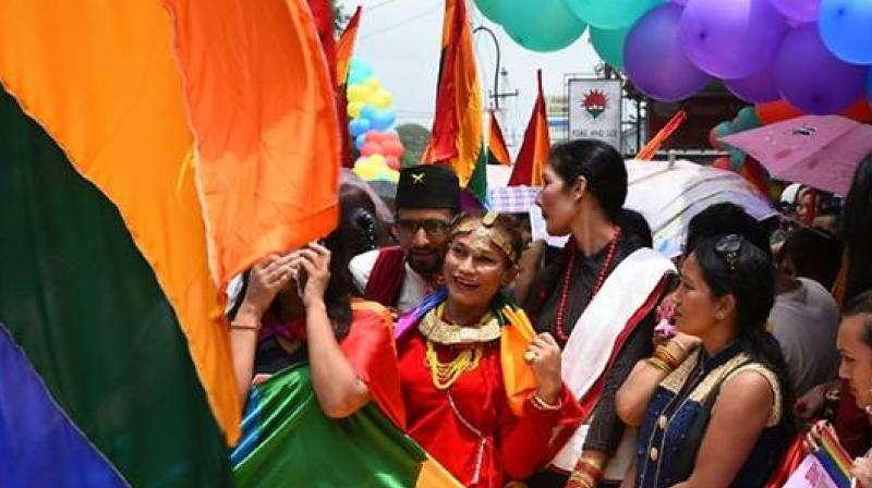 Born and raised as a boy in rural Nepal, Monika Shahi Nath never dreamed she would be a bride, accepted as a wife and daughter-in-law. (Photo: AFP)