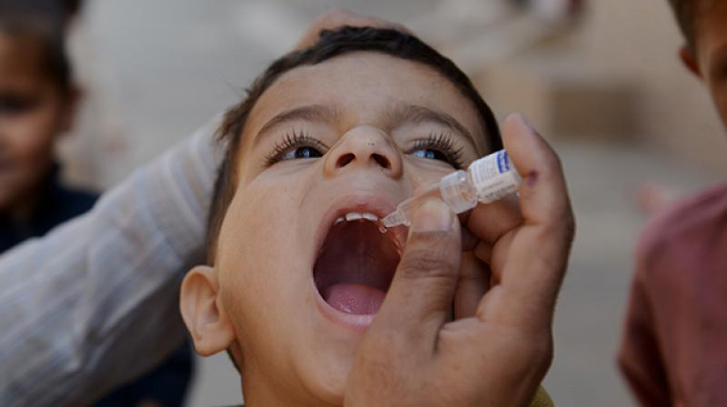 Polio cases are presently reported from two countries, Pakistan and Afghanistan. (Photo: Representative Image/File)