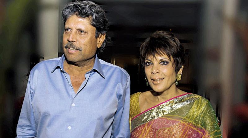 Kapil and Romi Dev