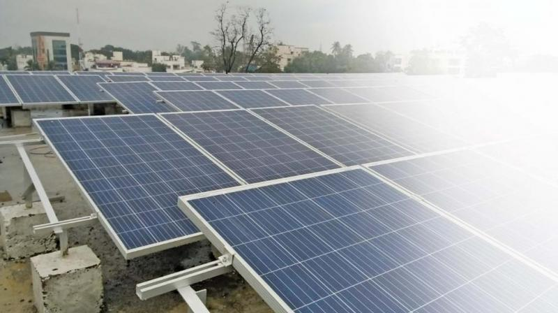 The company is manufacturing module and solar panels, which were cheaper and durable, for Indian markets, general manager(business development) of Adani Solar Cecil Augustine told reporters. (Photo: File)