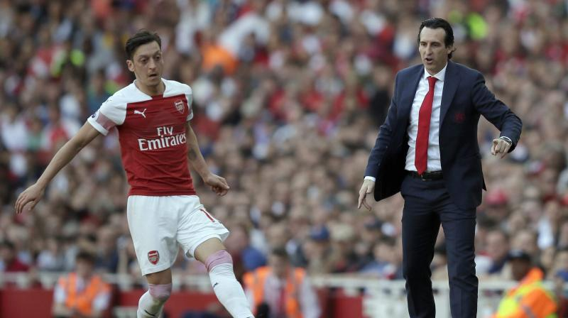 The defeat means Arsenal failed to earn a spot in next season's Champions League for the third successive season, but Emery said another Europa League campaign would not put off potential targets joining the club. (Photo: AFP)