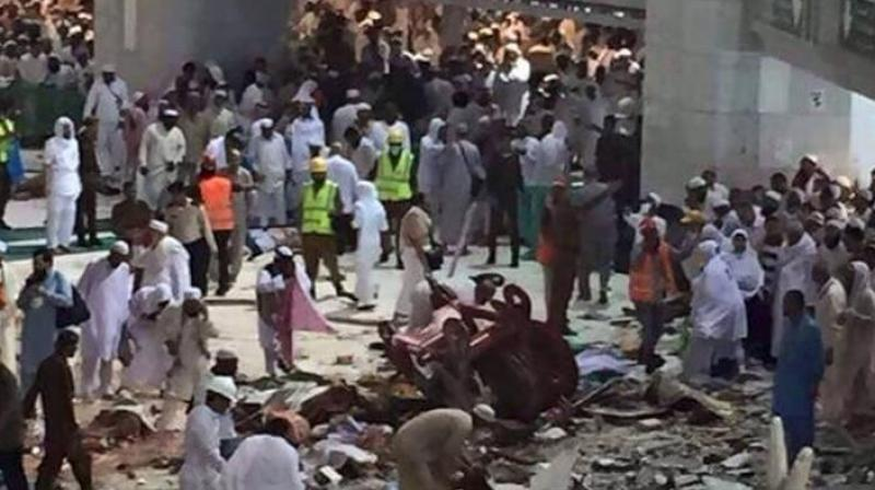 The blast partially collapsed the building where he had taken refuge, injuring the 6 pilgrims, Ministry spokesman General Mansour al-Turki said. (Photo: AP/Representational)