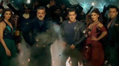A still from 'Race 3.'