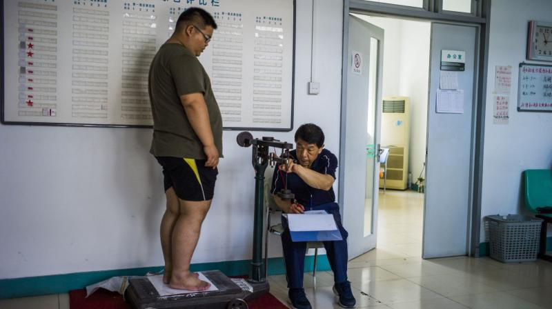 Obesity may increase the risk for heart failure through the smorgasbord of conditions that accompany obesity (Photo: AFP)