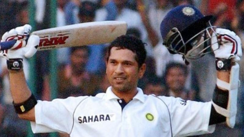 It was on December 10, 2005, when legendary batsman Sachin Tendulkar broke Sunil Gavaskar's record to become the leading centurion in the longest format of the game.  Tendulkar slammed his 35th hundred in Test, surpassing the milestone against Sri Lanka in Delhi. Master Blaster, went on to score 109 runs against the Islanders in the first innings. (Photo:Twitter)