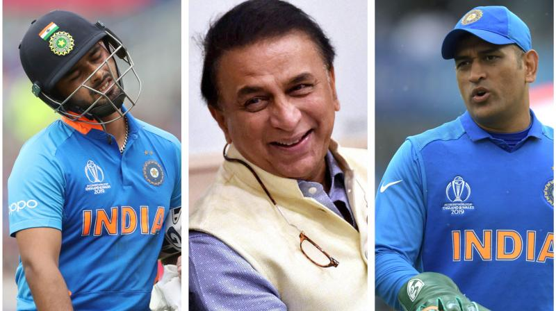 Former captain and batting legend Sunil Gavaskar believes that time has come for Indian cricket to 'look beyond Mahendra Singh Dhoni' and invest in youth going into next year's World T20 in Australia.  However, there has been a raging debate on the options available as Rishabh Pant has not been able to grab his opportunities. But he remains Gavaskar's 'top-choice' going into the marquee event next year. (Photo:AFP/PTI/AP)