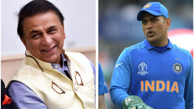 During an interview with India Today, former Indian cricketer Sunil Gavaskar has stated Mahendra Singh Dhoni's international cricketing career time is over. Hence, the team needs to look beyond MS Dhoni. (Photo:AFP/PTI)