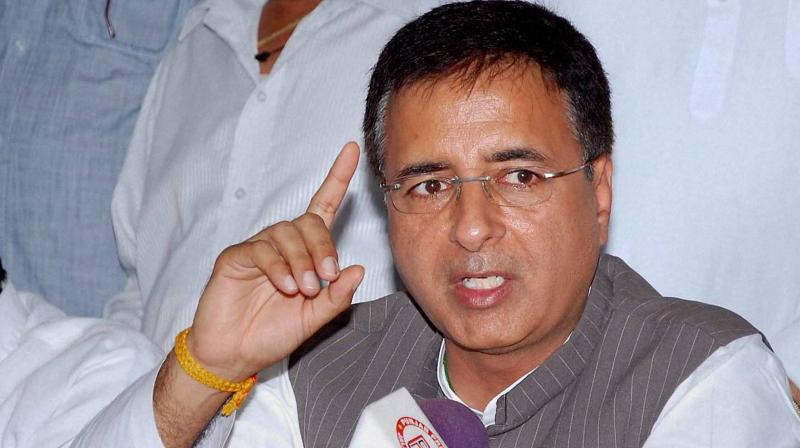Randeep Singh Surjewala (Photo: PTI/File)