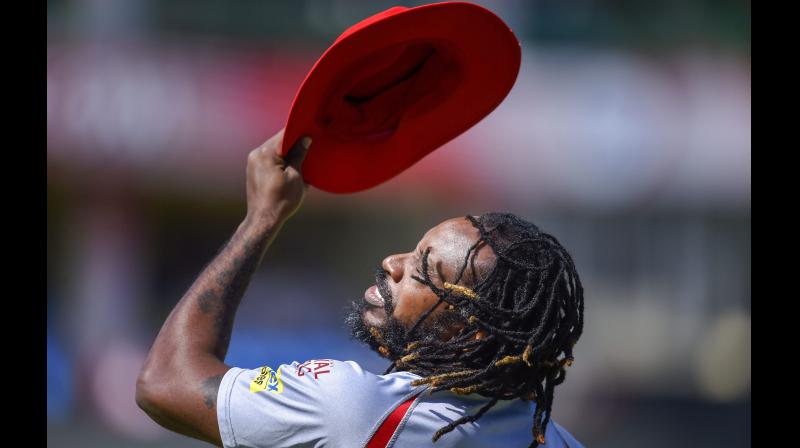 West Indies cricketer Chris Gayle. PTI Photo