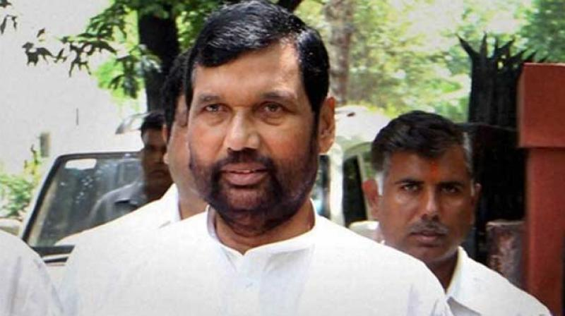 Paswan's son Chirag and two brothers are in the fray from reserved constituencies.  (PTI)