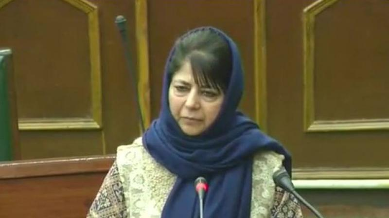 PDP president Mehbooba Mufti on Friday accused BJP chief Amit Shah of shaking the country's foundations with his recent controversial statements, and asked him to apologise to the people. (Photo: File)