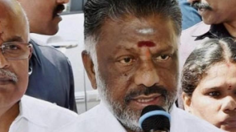 AIADMK coordinator and Tamil Nadu Deputy Chief Minister O Panneerselvam said the party would
