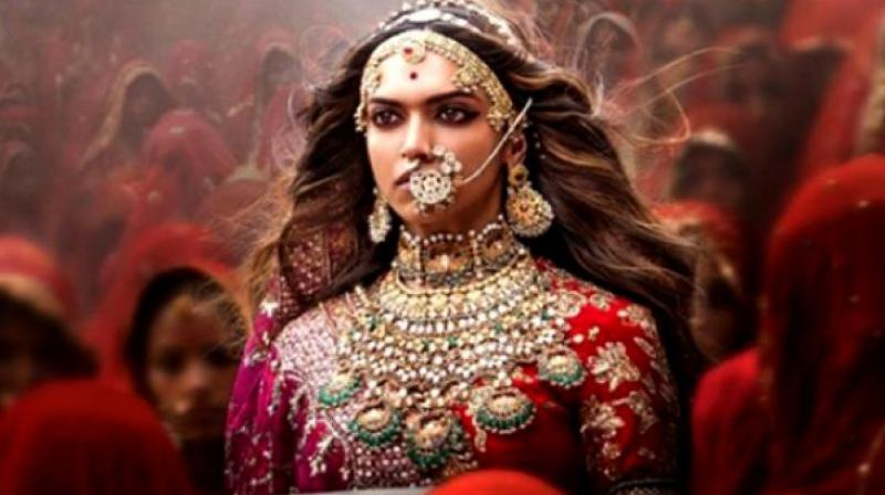 Deepika Padukone in a still from 'Padmavati.'