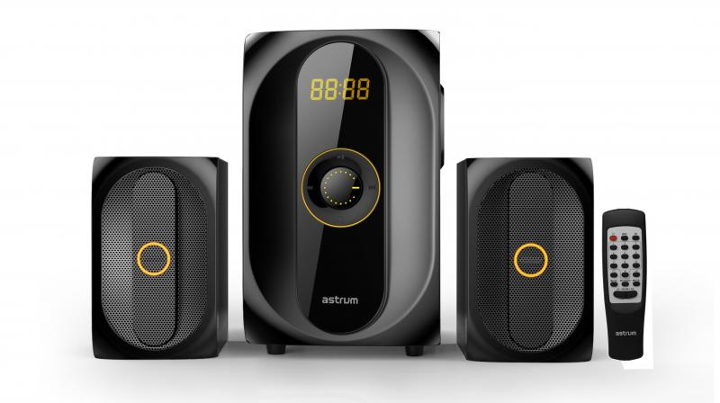 The Astrum 2.1 speakers – the MS300 and MS400 are priced at Rs 4,890 and Rs 5,690 respectively.