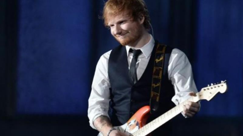Ed Sheeran was recently in the news for going off Twitter because of trolling. (Photo: AFP)