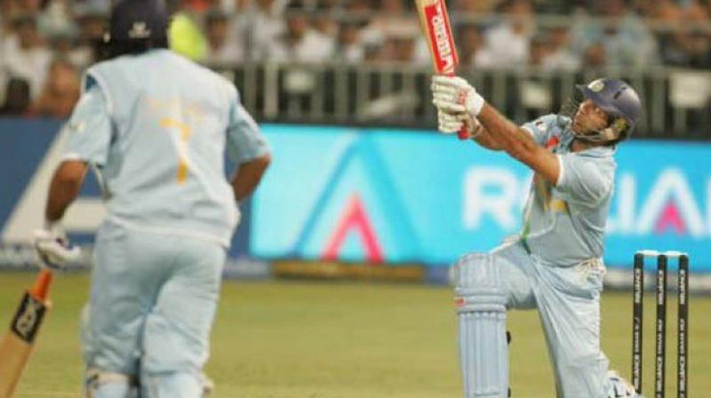 It has been 12 years since Yuvraj Singh turned on his smashing mode to hit six consecutive 6's in a single over off Stuart Broad. On September 19, 2007, the left-handed southpaw was in a thrashing mood to become the first cricketer to hit six sixes in an over in a T20I. (Photo: BCCI)