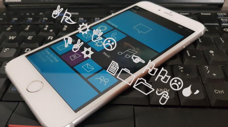 HTC tried something similar with their flagship One M8 that ran Windows 10 Mobile as its operating system.