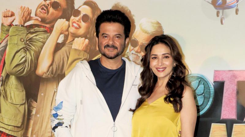 Madhuri Dixit Nene and Anil Kapoor