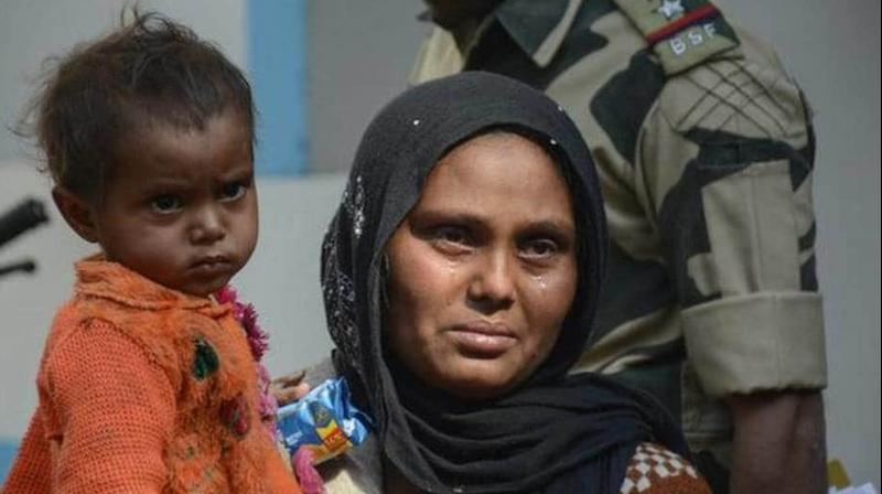 New Delhi also said that food and shelter are being provided to 31 Rohingyas who are stranded on the India-Bangladesh border even as their documentation is being checked. (Photo: AFP)