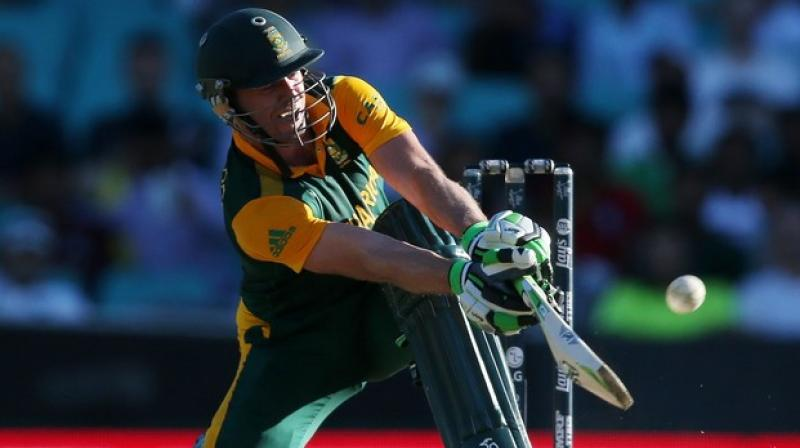 The star Proteas batsman is on 875 points, four points ahead of David Warner and 23 clear of Virat Kohli in the rankings. (Photo: AP)