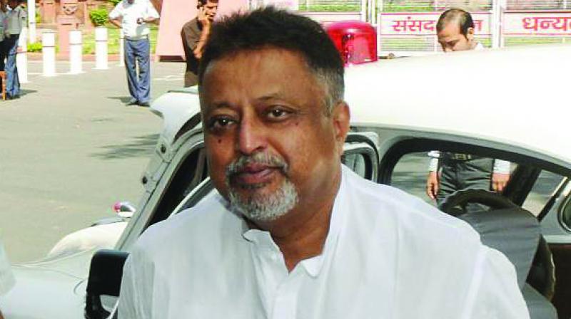 Senior BJP leader Mukul Roy