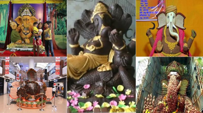 To promote an ecofriendly Ganesh festival this year, beach campaigners and activists are requesting citizens to favour sustainable idols over Plaster of Paris idols painted with chemicals.