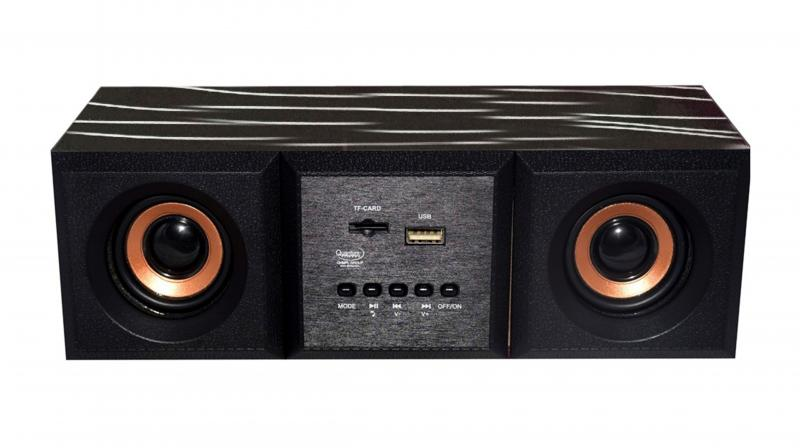 The speaker is available in Dark Wooden, Light Wooden and Black Silver shades along with unified Black colour.
