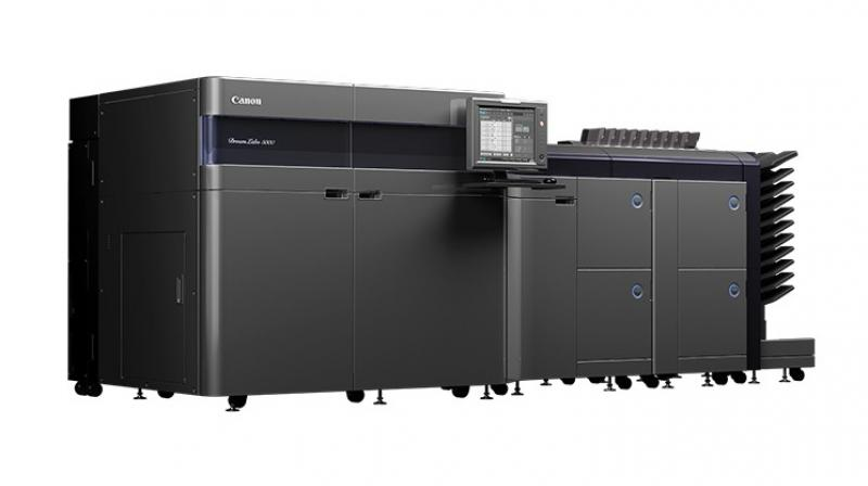 The DreamLabo 5000 is a new addition to the photoproduction printing market, which utilises Canon's inkjet photo printing technology on the production scale.