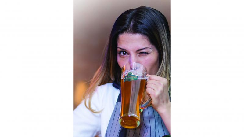Beer is considered the millennial's choice of liquor. Women these days are choosing pints over wine or spirits.