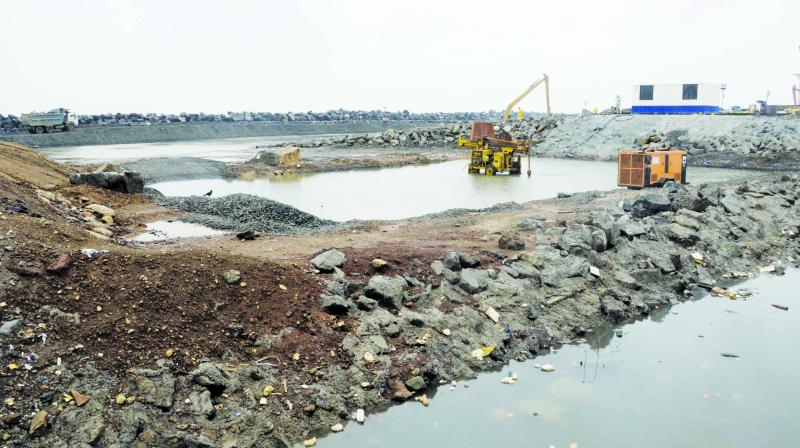 File image of Worli Coastal Road project