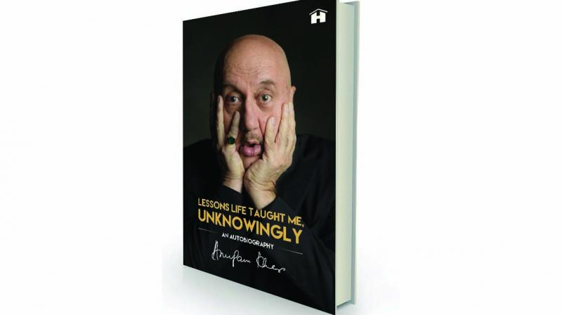 Lessons Life Taught Me Unknowingly, by Anupam Kher Hayhouse, Rs 699.