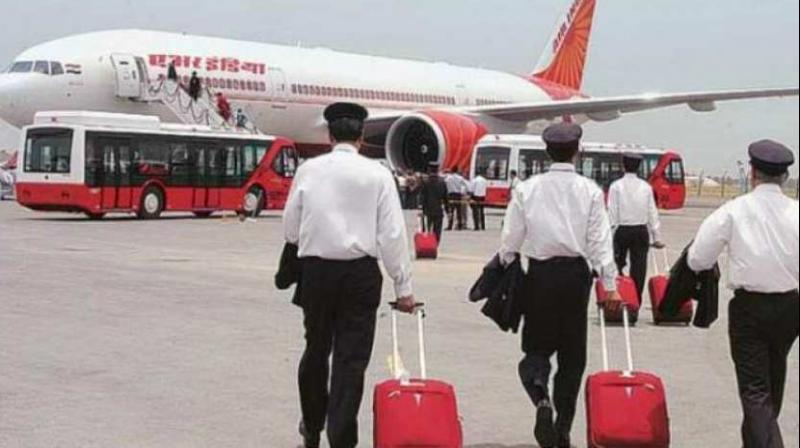 Air India's pilots' union and several other airlines had earlier written to the DGCA to stop BA tests as they increased the risk of infection. (Representational image: PTI)
