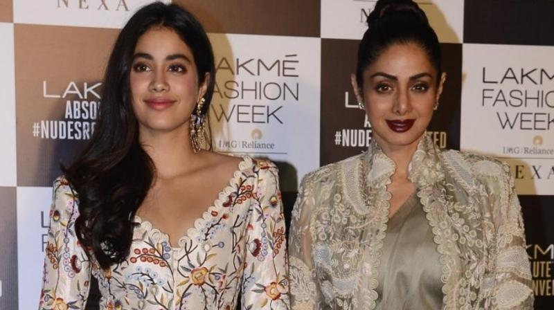 Janhvi Kapoor's mother, late Sridevi was also known for her beauty apart from impeccable acting skills.