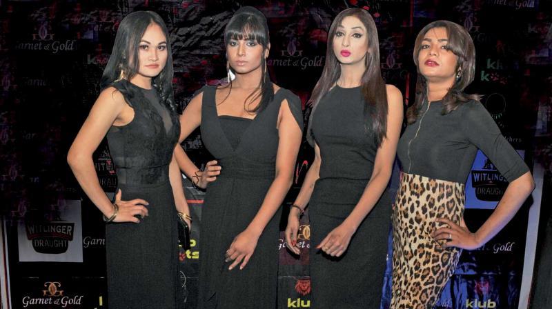 (L-R) Lelsnifi Mate, Natasha Biswas, Tanu Singh and Vippy (Photo: Bunny Smith)
