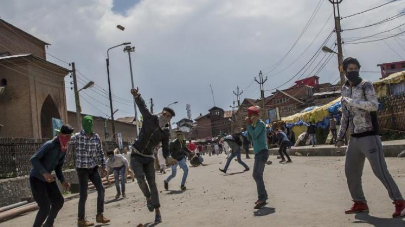 The security forces fired pellet shotguns into the violent crowds, the witnesses, said adding that a few of the alleged stone-pelters were arrested by the police. (Photo: AP/File)