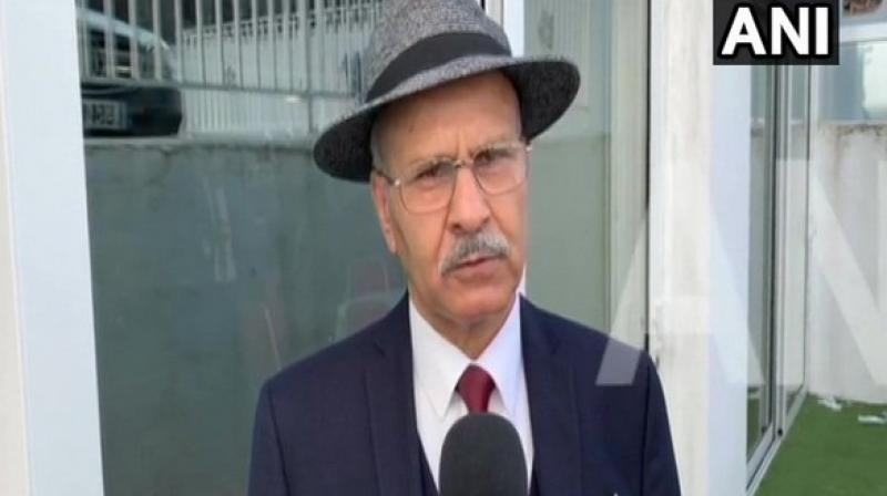 'The situation in Pakistan administered Kashmir or Azad Kashmir, although it is called Azad there is no Azadi, is becoming worse, especially with the diversion of rivers. It is creating enormous problems for the local people as they may be forced to migrate from the region in the near future,' said Shabir Choudhary, a writer and activist from PoK. (Photo: ANI)