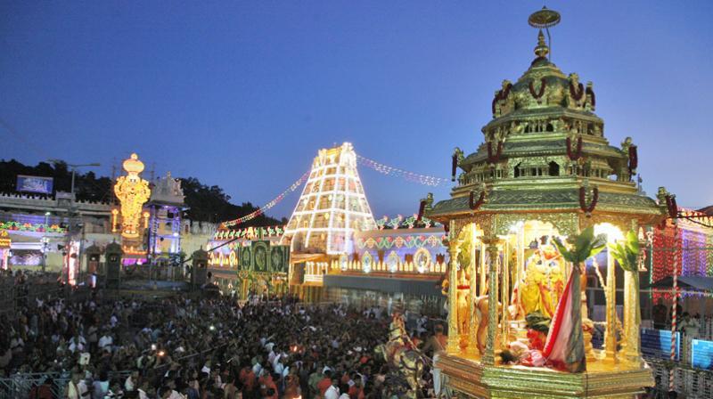 The Tirumala Tirupati temple. (TTD website)