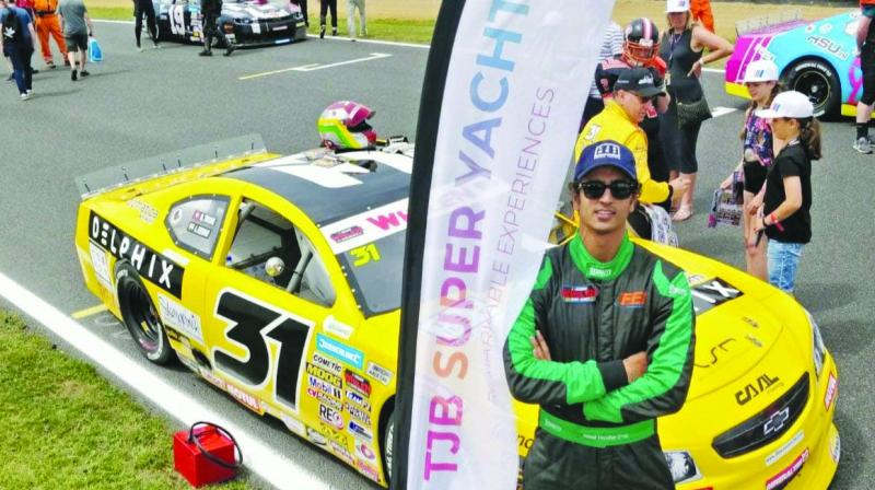 Advait Deodhar had thrilling last weekend at Round 4 of Euro Nascar Elite 2 in the Czech Republic.